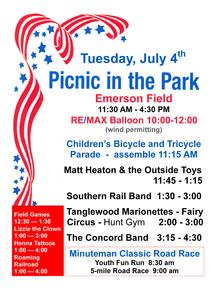 2017 Summer Picnic poster